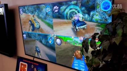 Android TV: Beach Buggy Racing Multiplayer with Nearby Connections (Play Service