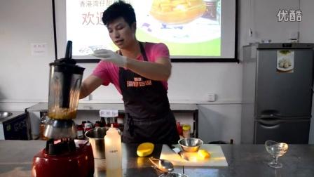 学习怎样做芒果西米捞,甜品培训制作视频,想学甜品技术就找香港湾仔甜品培训学校