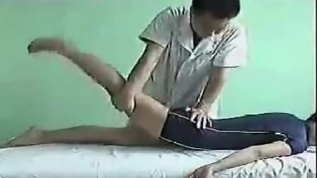推拿按摩手法★刘焰刚按摩手法★腰骶手法2_标清