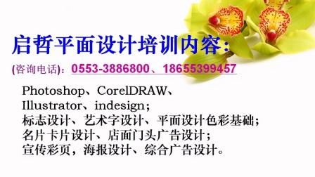 #芜湖创意平面广告设计培训大赛#