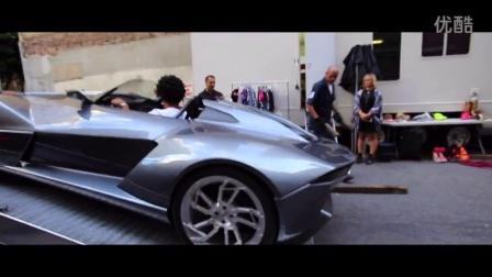 Charm Brittian team's up with Rezvani _ gives Chris Brown a Rezvani Beast Superc