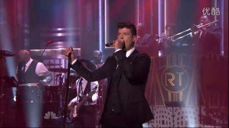 Robin Thicke - Back Together (Live on Jimmy Fallon 08-13-2015)