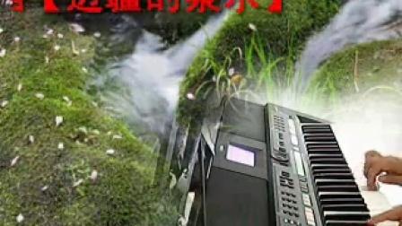 s650电子琴弹唱【边疆的泉水】