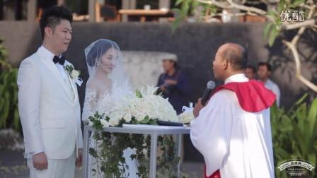 巴厘岛婚礼-顶级微电影团队bali metro-宝格丽水上婚礼-婚礼篇