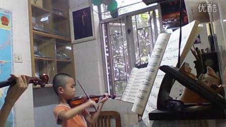 小提琴教与学开塞24于弘毅小朋友