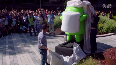 Android Marshmallow Statue Revealed