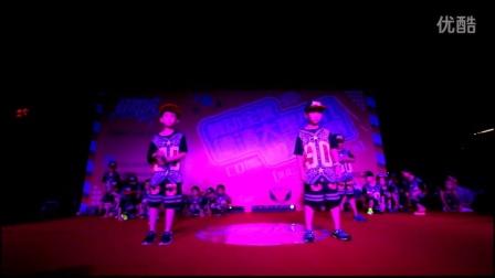 德清武康虹舞馆国际街舞培训机构2015年公演幼儿breaking+locking
