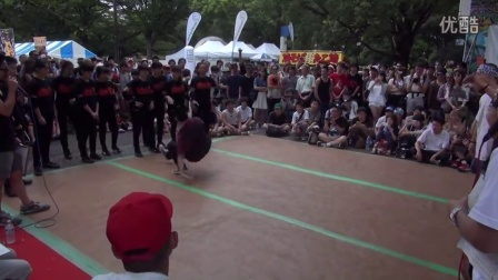 【5BBOY】Nishikasai BREAKERS vs 7 Jiggys B-BOY PARK 2015 U20 BREAKING CREW BATTLE