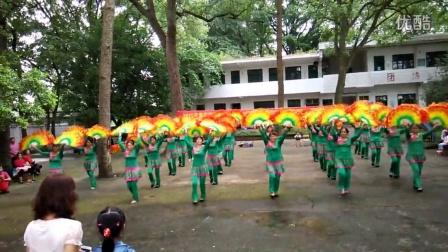 广西桂林雁山区广场舞 中国美