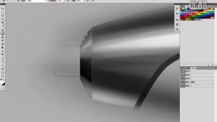 沈阳大树设计培训工作室 Photoshop基础产品手绘教程 电钻