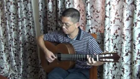 GuitarManH---怀旧经典《又见炊烟》吉他独奏