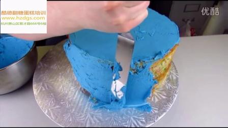 杭州翻糖蛋糕培训--蝙蝠侠的生日蛋糕