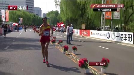 世锦赛-男子20KM竞走王镇遗憾摘银 西班牙选手夺冠陈定列第九