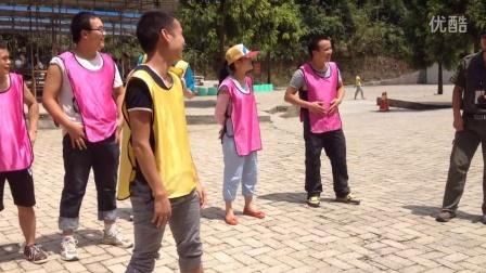 2015年8月22日 绥阳鸣泉谷拓展活动之小惩罚游戏