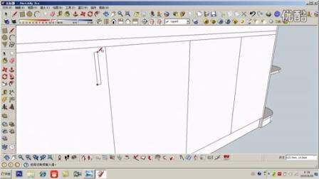 CAD家具设计快速绘图教程---酒柜三维