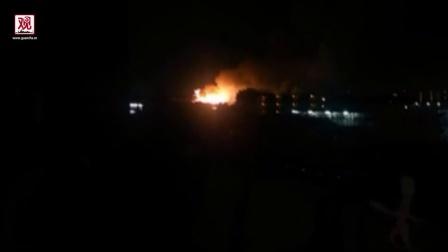 【观察者网】驻日美军基地凌晨发生爆炸 距东京仅40公里