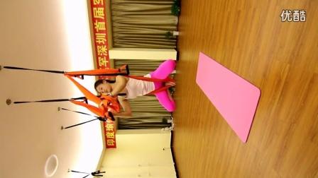 深圳圣音瑜伽会馆唯美空中瑜伽培训最火的空中瑜伽