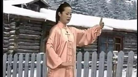 八式太极拳教学【吴阿敏】