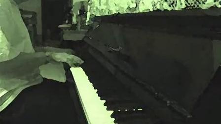 Dr FOO Check Teck's Watercolor of Piano:Chaos