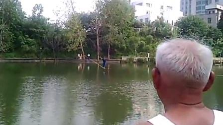 1583南京不倒60米水线完成全纪录 走扁带