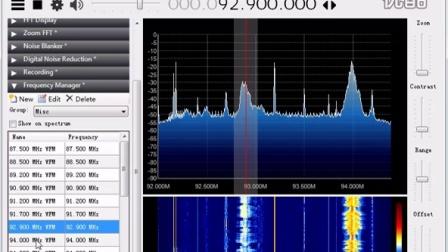 RTL2832U+R220T  SDR接收厦门FM广播