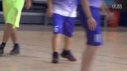 挑战地心引力 造就青春奇迹-中景汇北方院篮球友谊赛20150825
