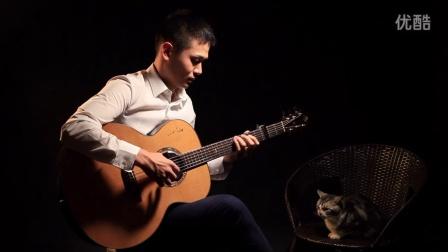 弦木王屹——《雪之花》吉他独奏