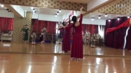 东方茉莉·优雅礼仪 Aline老师 古典舞形体舞蹈背面