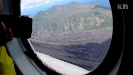 【陈小羊旅拍之堪察加荒野旅途记】间歇泉山谷米8直升机一日游之航空实拍
