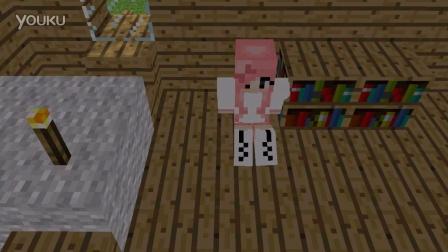 【智空制作】Minecraft我的世界动画:萌妹子惨遭HIM附体!!!