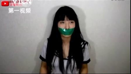 被胶带绑住嘴就没法喊救命吗?韩国美女证明 爆笑喊救命!