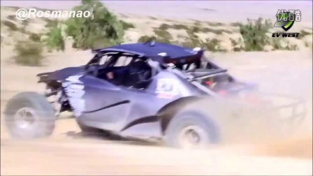 Insane Electric Off-Road 4x4 Race Car Baja TT 《Pure Electric Sound》 HD