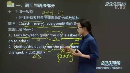成人高考英语教学视频高教版-专升本