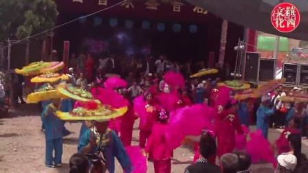 陕北秧歌-精彩华丽二人腰鼓((陕北特色风俗犀利牛人霸气演出)