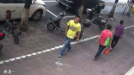 小偷偷车过程