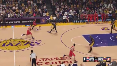 NBA2K15常规赛 洛杉矶快船vs洛杉矶湖人