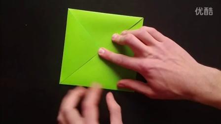 『四格纸盒』折纸教程
