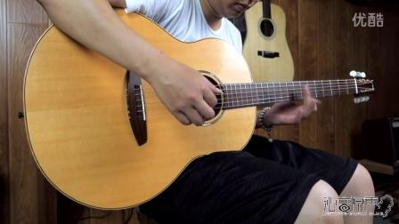 日本制作家内田光広 Model U 手工吉他评测试听 沁音原声