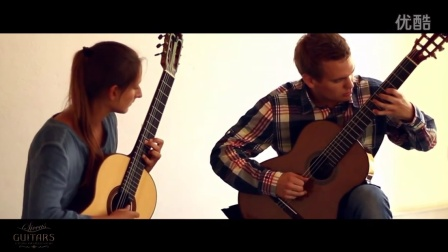 吉他二重奏《浆果》Cato Guitar Duo plays Jongo by Paulo Bellinati