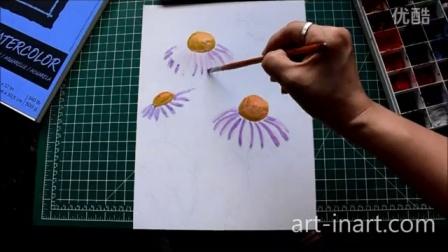 朱奕盈老师教画画——花和蝴蝶