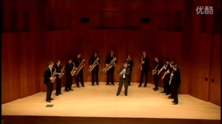 伊斯曼萨克斯重奏团 德彪西黑管《第一狂想曲》