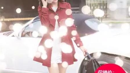 2015秋装新款韩版女装气质显瘦中长款女式风衣外套秋