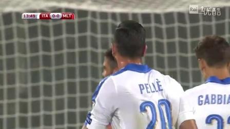 9月4日 意大利vs马耳他 意大利语 1