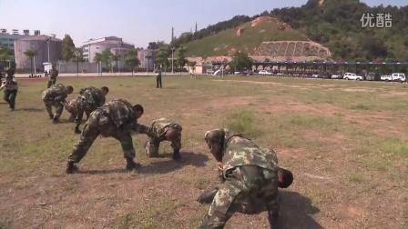 2015厦门海警秋季老兵退伍感人视频