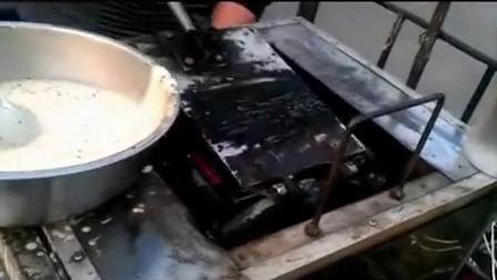 安徽黄山简易蛋卷机和家甜筒脆皮机 冰淇淋脆筒机 蛋卷机 (3)