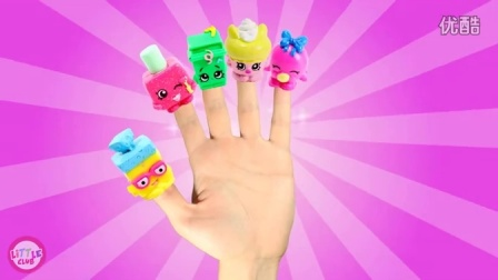 Shopkins Finger Family Song - Finger Family Nursery Rhymes
