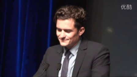 2015Deauville多维尔美国电影节Orlando Bloom接受致敬荣誉奖并发言