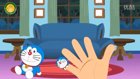 DORAEMON Finger Family Nursery Rhymes for Children and Babies