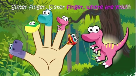 Dinosaur Finger Family  Nursery Rhymes Lyrics
