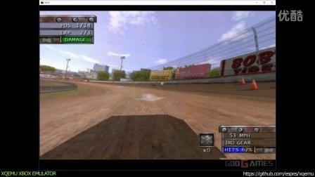 XQEMU XBOX模拟器9月13日模拟 - 《测试赛车:毁灭前夕(Test Drive: Eve of Destruction)》